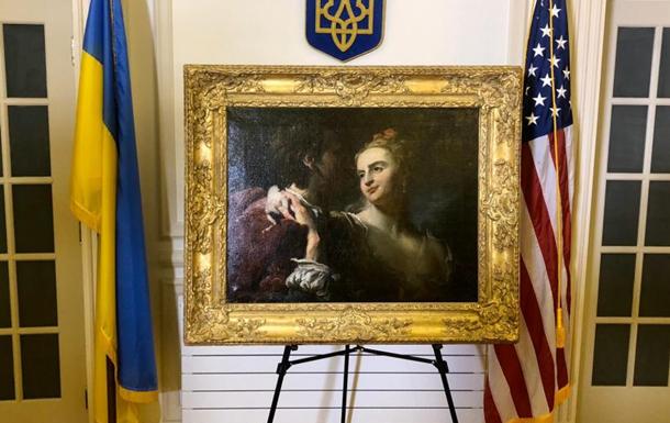 В Украину вернулась картина, похищенная нацистами во время войны