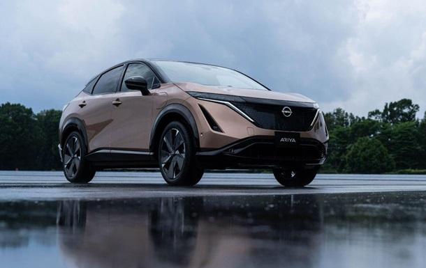 Представлен первый электрокроссовер Nissan