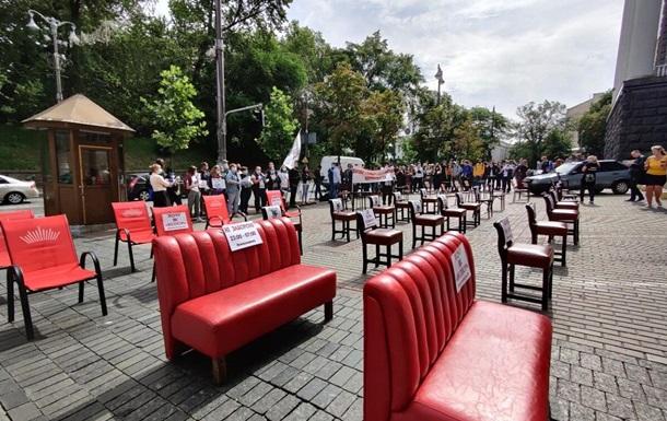 У Києві ресторатори провели акцію  Хочу, як Велюр