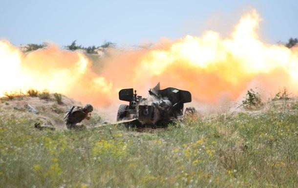 Артиллеристы ВМС провели стрельбы