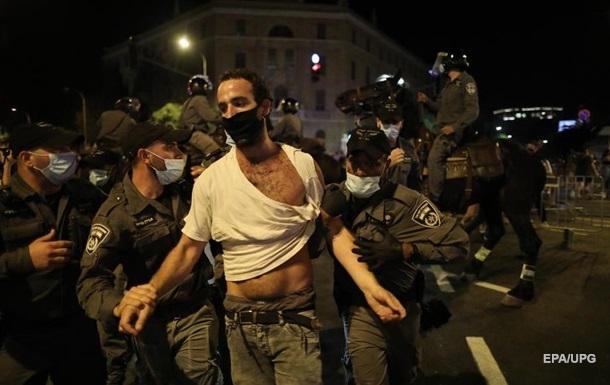 В Ізраїлі поліція затримала учасників протесту
