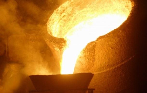 В металлургии зафиксировали спад производства