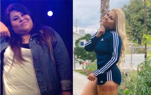 Девушка похудела на 60 кг из-за измены жениха