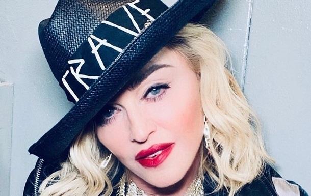 Мадонна удивила сеть  пошлым  фото