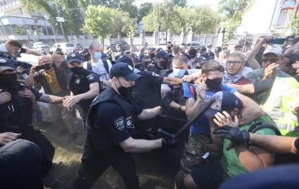 У центрі Києва посилили заходи безпеки через акції протесту