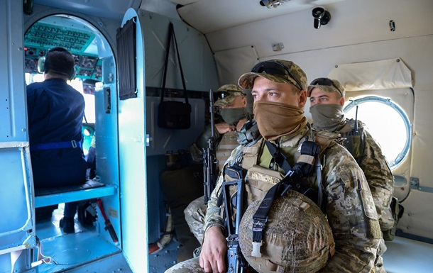 Пограничники провели учения в Черном море