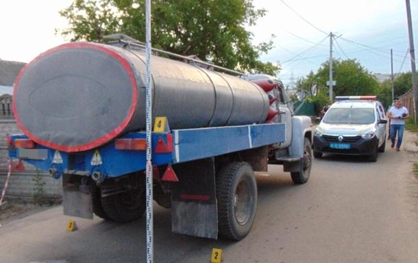 В Житомире ребенок попал под колеса грузовика