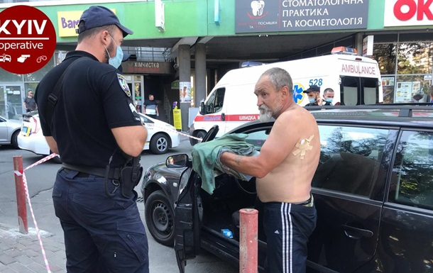 У Києві поранений таксист дав відсіч пасажиру, який стріляв