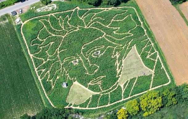 У Німеччині з явився гігантський портрет Бетховена