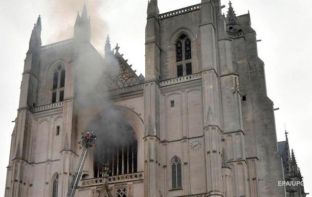 Пожежа в древньому соборі Франції: затриманий мігрант