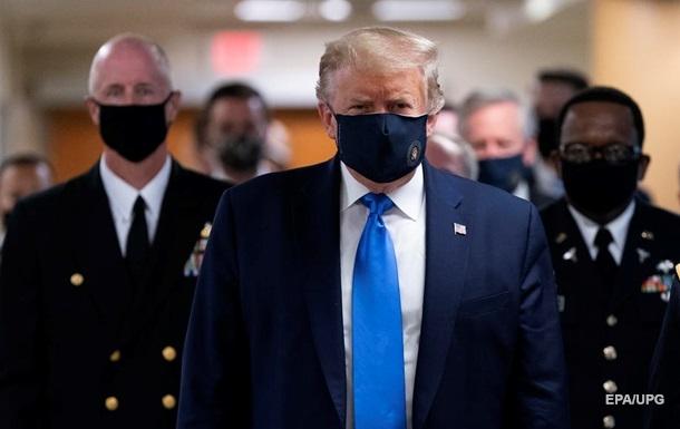 Трамп проти обов язкового носіння масок