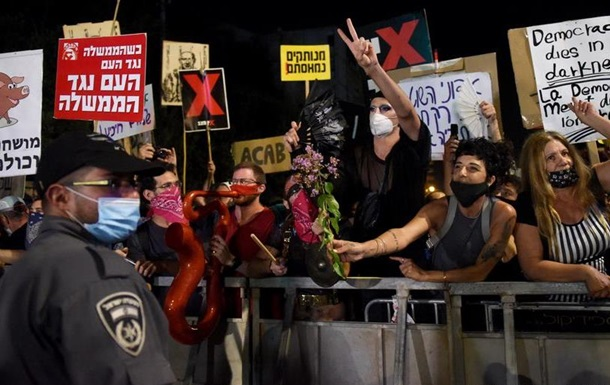В Ізраїлі протестували проти дій уряду у боротьбі з COVID-19