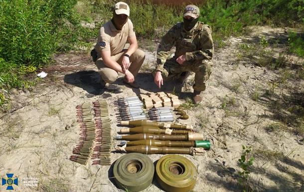 На Луганщине обнаружили схрон с противотанковыми минами