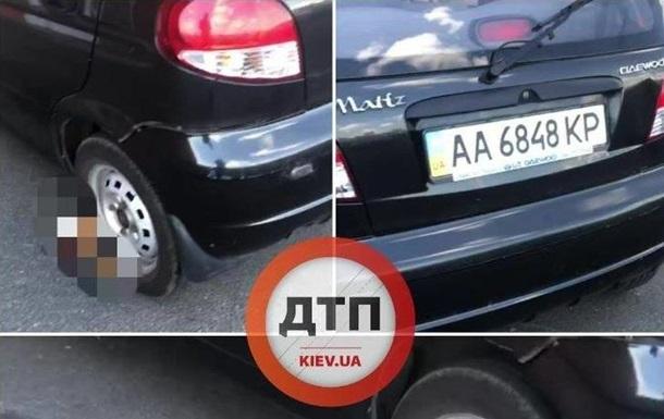 У Києві водій залишив труп кота під авто. 18+