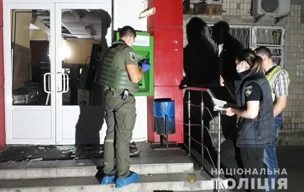 В Киеве взорвали банкомат возле магазина