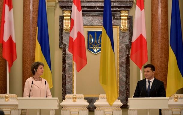 Україна отримає від Швейцарії 108 мільйонів франків допомоги