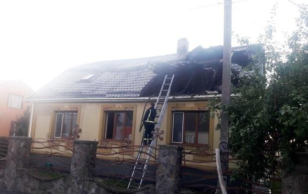 На Ровенщине подожгли дом представителя одной из партий