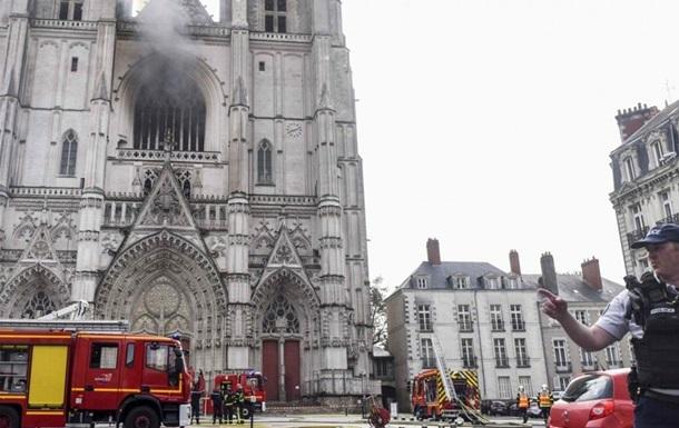 При пожаре во французском соборе в Нанте сгорела редкая картина