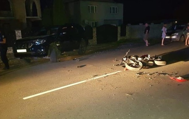 На Закарпатье депутат сбил насмерть мотоциклиста - СМИ