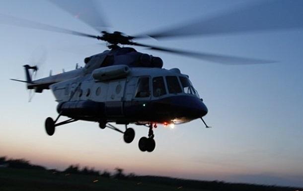 На Филиппинах упал военный вертолет: на борту было пять человек