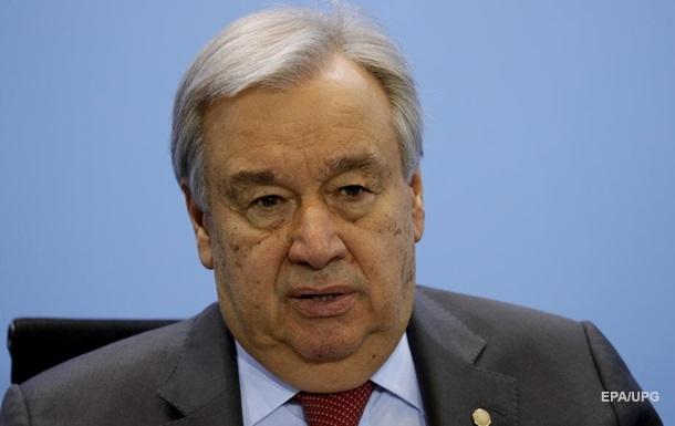 Перемирие на Донбассе: генсек ООН сделал заявление