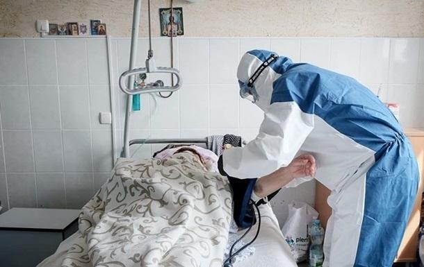 В Україні рекорд щодо госпіталізованих з COVID-19