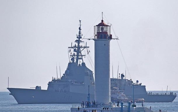 В Одессу зашли пять кораблей НАТО