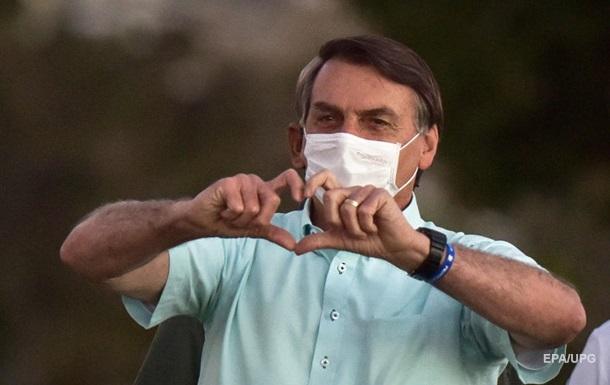 Президент Бразилії вилікувався від коронавірусу