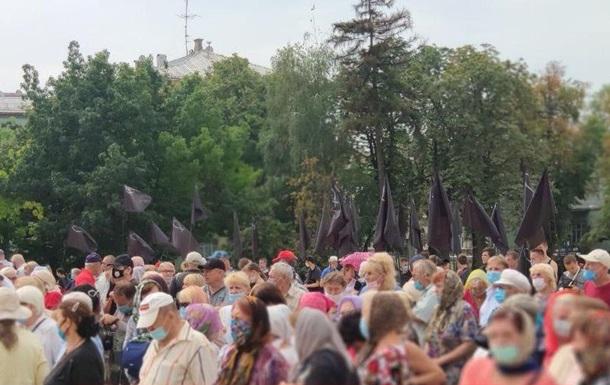 У Києві влаштували акцію проти перетворення Святої Софії в мечеть