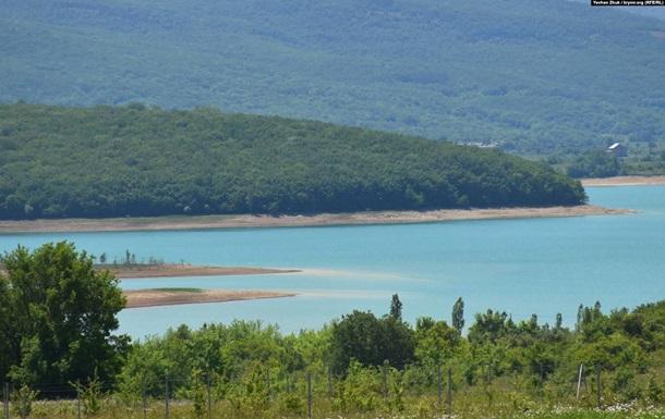 ЗМІ показали обміліле водосховище біля Севастополя
