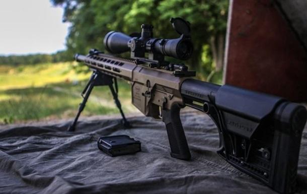 Спецназ Нацгвардії озброїли українськими гвинтівками