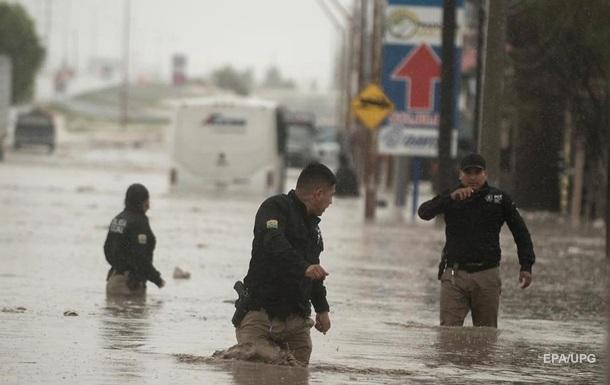 У Мексиці чотири людини стали жертвами урагану Ханна