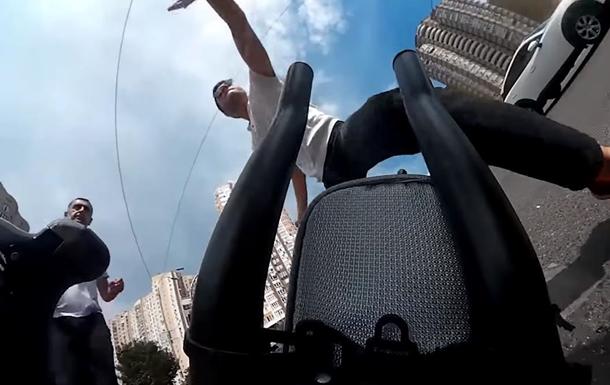 В Киеве избили велосипедиста из-за замечания