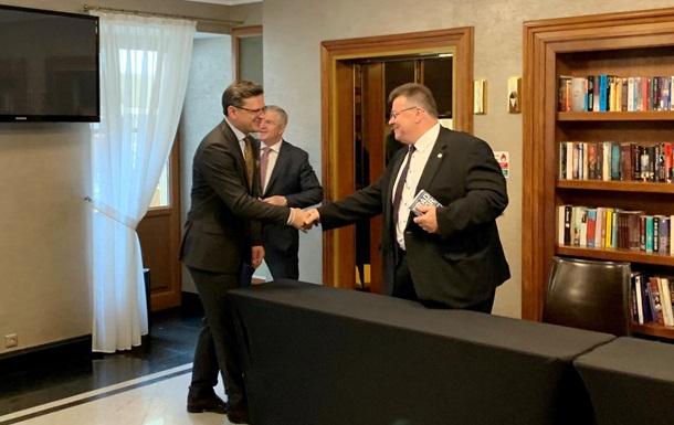 Украина, Польша и Литва создали 'треугольник'
