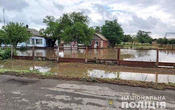 На Херсонщині затопило село