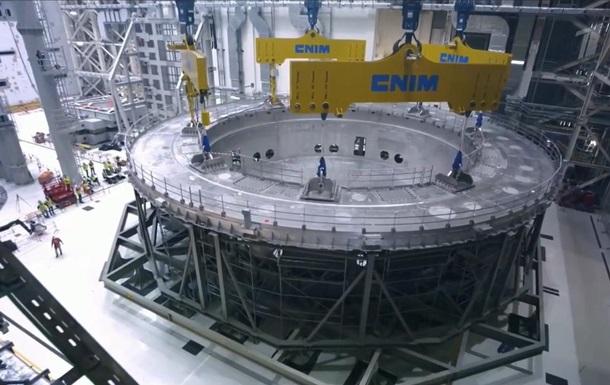 Во Франции начали строить термоядерный реактор