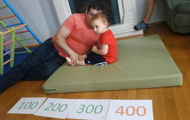 Годовалый ребенок установил рекорд на пресс