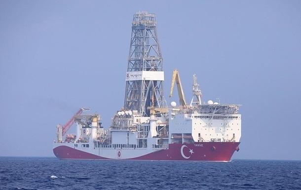Туреччина зупиняє геологічну розвідку в Середземному морі