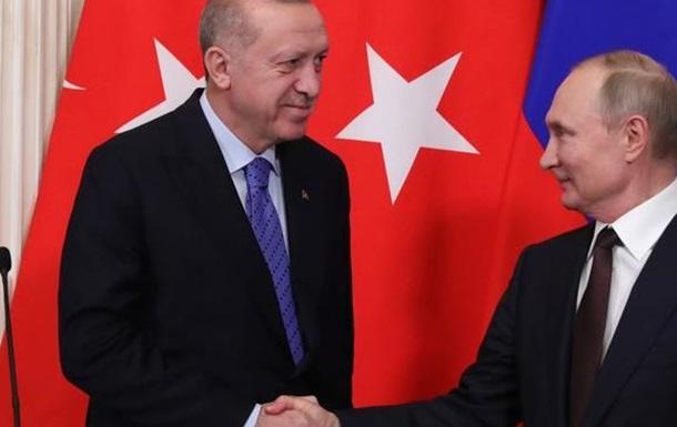 Путін – Ердоган: новий курс на розподіл сфер впливу?