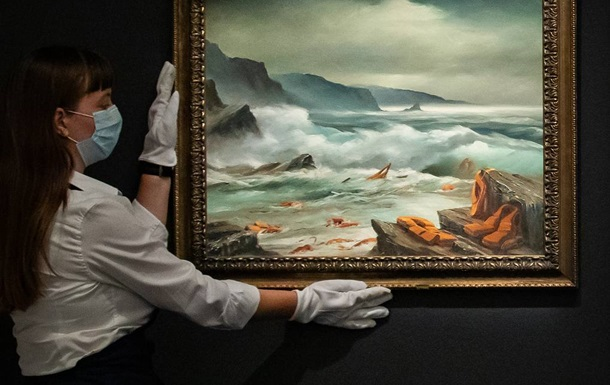 Триптих Бенксі був проданий на Sotheby s за 2,9 мільйона доларів