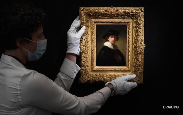Автопортрет Рембрандта установил рекорд на аукционе Sotheby s