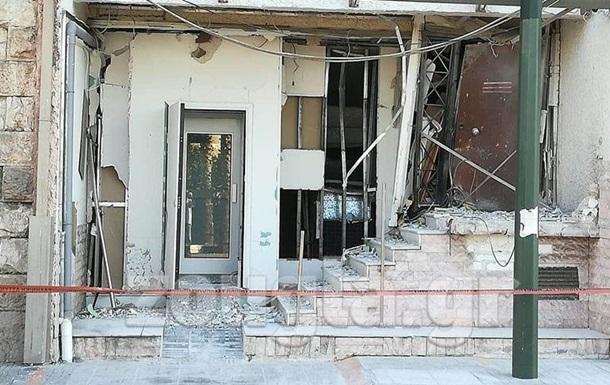 У Греції стався вибух біля офісу судноплавної компанії