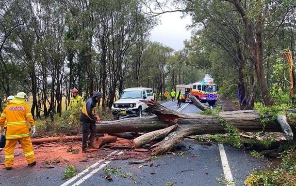 Австралия пострадала от сильного шторма