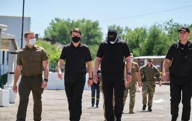 Глава Рады посетил прифронтовой Донбасс
