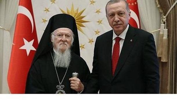 «Армія. Мова. Віра» в исполнении Эрдогана и Варфоломея