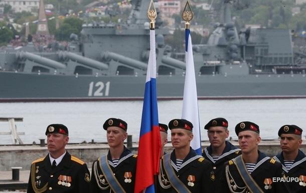 Парад  в Крыму: Россия вернула ноту Украине