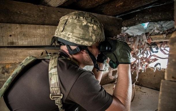 На Донбассе с начала суток один обстрел – штаб