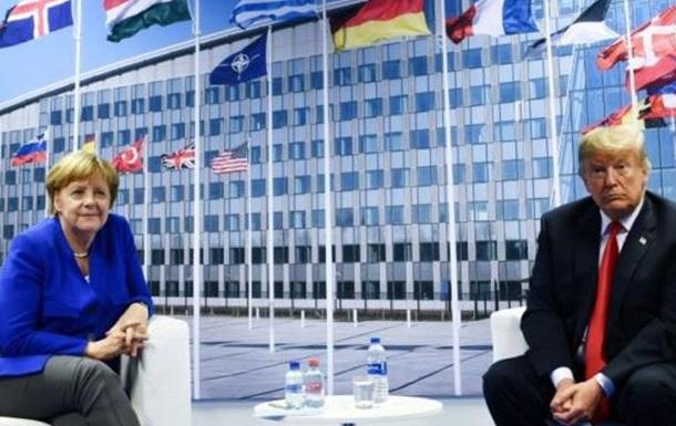 Трамп, ФРН та  смерть мозку  НАТО. Україна –  санітарна  зона