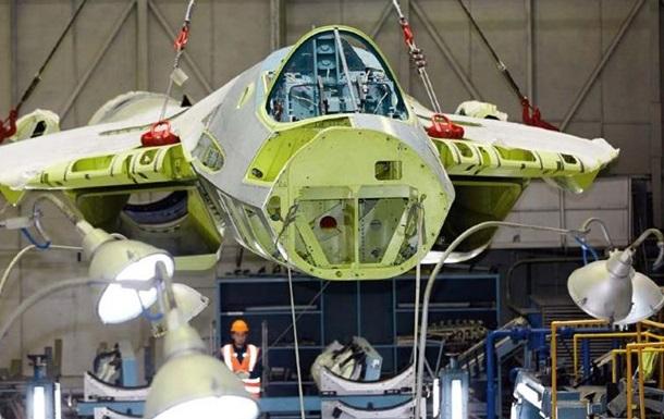 Опубликованы первые фото сборки серийного Су-57