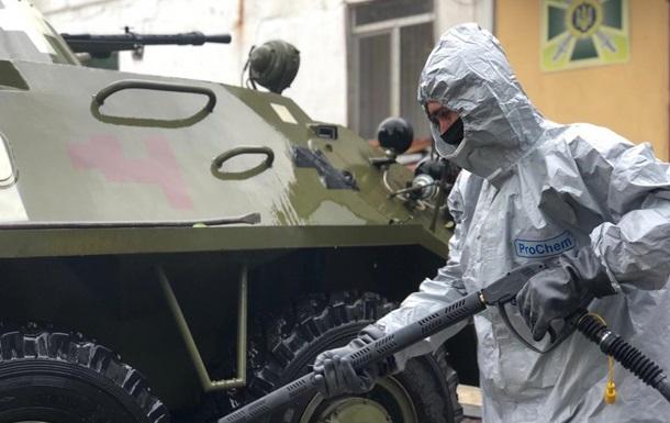 Луганские пограничники усилили противоэпидемический режим
